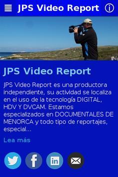 JPS Video Report poster