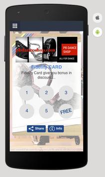 PB Dance Shop apk screenshot