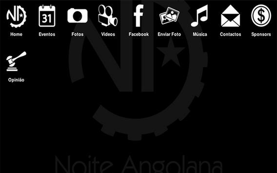 Noite Angolana App apk screenshot