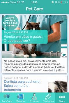 Pet Care para cães e gatos poster