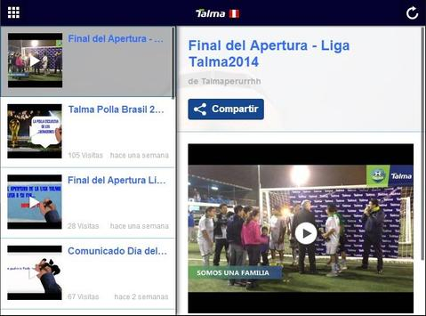Talma Perú apk screenshot