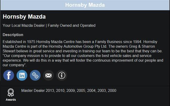 Hornsby MAZDA apk screenshot