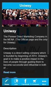 UNIWAY poster