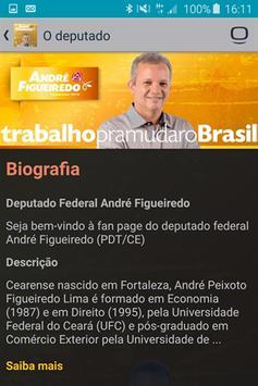 Deputado André Figueiredo poster