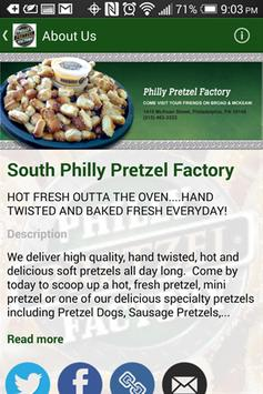 South Philly Pretzel Factory apk screenshot