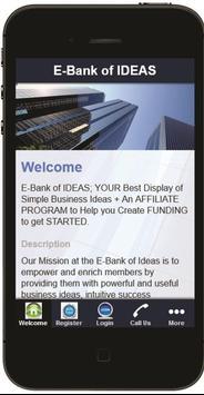 E-Bank of IDEAS poster