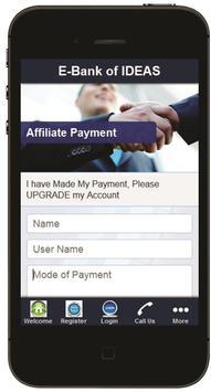 E-Bank of IDEAS apk screenshot