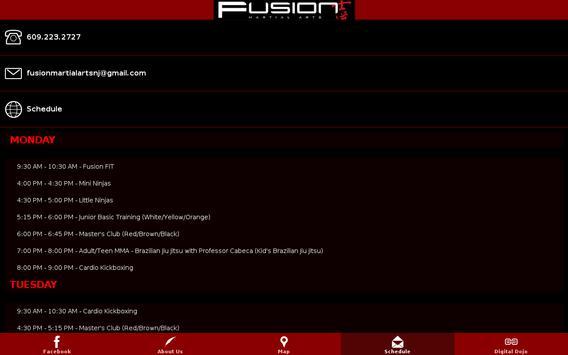 Silva Fusion Martial Arts apk screenshot
