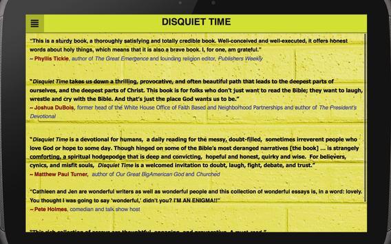 Disquiet Time apk screenshot