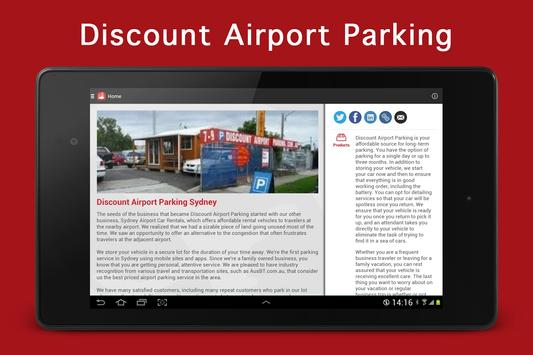 Discount Airport Parking apk screenshot