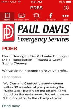 Paul Davis Emergency Services poster