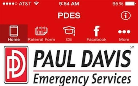 Paul Davis Emergency Services apk screenshot