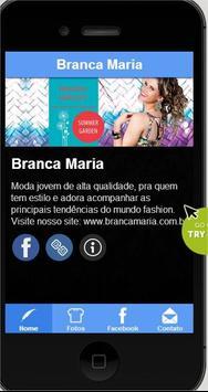 Branca Maria app poster