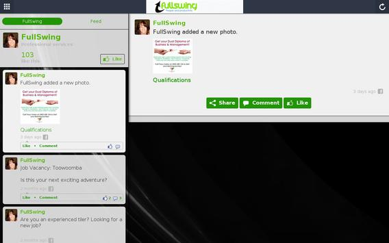 FullSwing apk screenshot