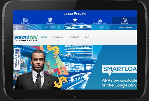 Jazza Prepaid apk screenshot