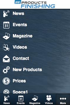 Products Finishing apk screenshot