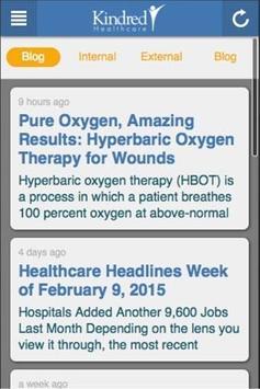 Kindred Healthcare apk screenshot