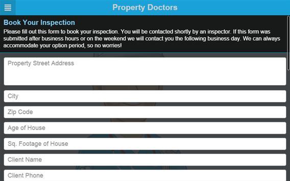 The Property Doctors apk screenshot