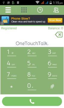 OnetouchTalk apk screenshot