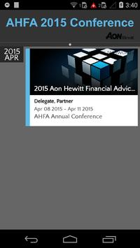 AHFA 2015 Conference poster