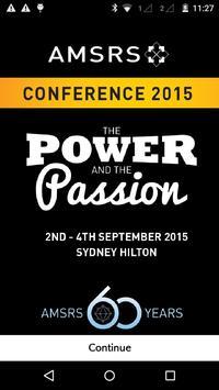AMSRS Conference 2015 apk screenshot