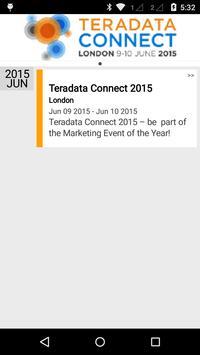 Teradata Connect 2015 apk screenshot