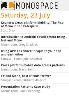 Monospace11 apk screenshot