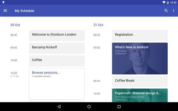Droidcon London 2014 apk screenshot