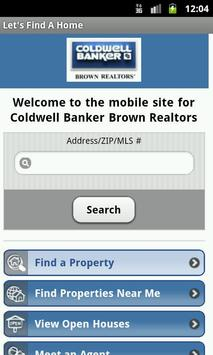 Coldwell Banker Brown Realtors poster