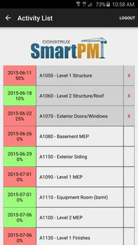 SmartPM & FreeCPM by Construx apk screenshot