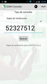 DIAN Consulta apk screenshot