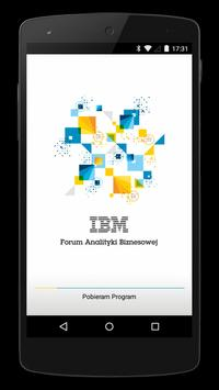 IBM Business Analytics Forum poster