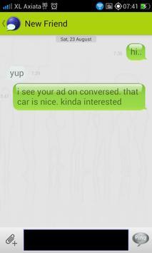 Conversed apk screenshot