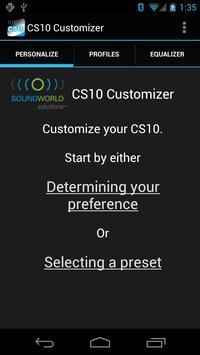 CS10 Customizer poster