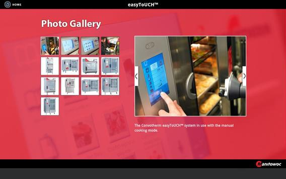Manitowoc Convotherm easyToUCH apk screenshot