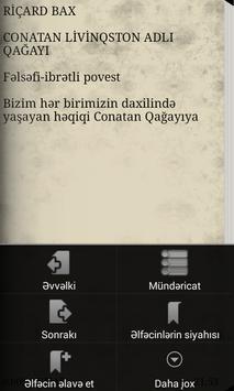 Conatan Livinqston adlı Qağayı apk screenshot