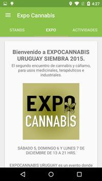 Expocannabis Uruguay apk screenshot