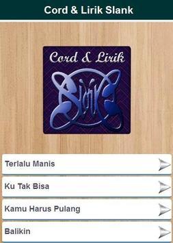 Cord & Lirik Slank apk screenshot