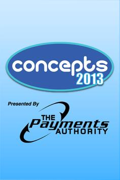 Concepts 2013 poster
