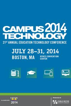 Campus Technology 2014 poster