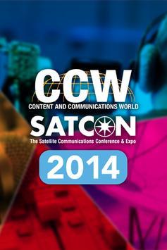 2014 CCW+SATCON poster