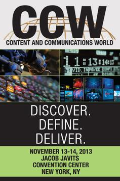 Content & Communications World poster