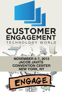 Customer Engagement Technology poster