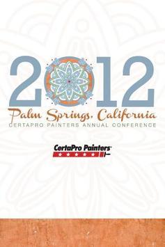 CertaPro 2012 Conference poster