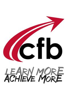 CFB Learn More Achieve More poster