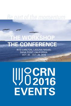 CRN's 2016 Events poster