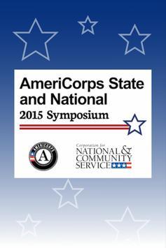 2015 AmeriCorps Symposium poster