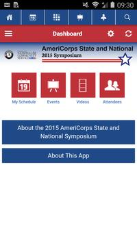 2015 AmeriCorps Symposium apk screenshot