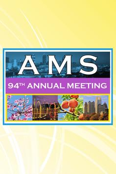2014 AMS 94th Annual Meeting poster
