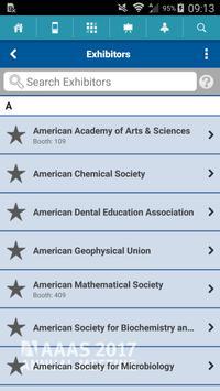 AAAS 2017 Annual Meeting apk screenshot